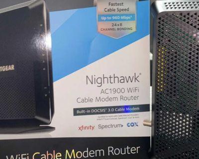 Netgear, Nighthawk Modem & Router in One