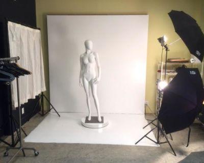 Mini Photo Studio with Mannequins, oakland, CA