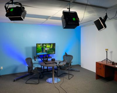 Live-Streaming Studio and Interview Space, Rockville, MD