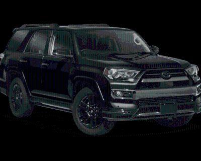 New 2021 Toyota 4Runner Nightshade 4WD (Natl) Four Wheel Drive SUV