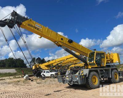 2015 Grove RT600E 45 ton 4x4 Rough Terrain Crane