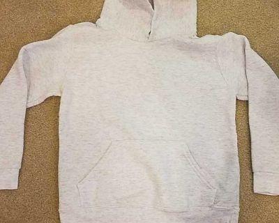 Gray Hooded Sweatshirt - Size S
