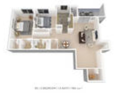 Stoneridge at Mark Center Apartment Homes - 2 Bedroom 1.5 Bath with Alcove or