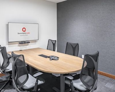 Private Meeting Room for 7 at Serendipity Labs - Seneca One Tower