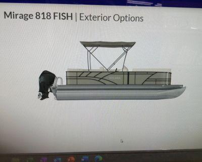2021 Sylvan Mirage 818 Fish Pontoon Boats Hutchinson, MN