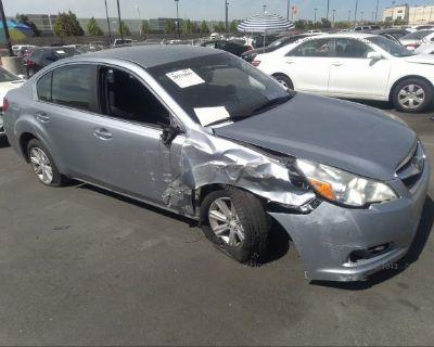 Salvage Silver 2012 Subaru Legacy