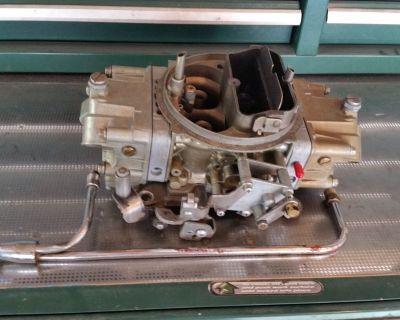 Holley 850 CFM Double Pumper 4781-2 Carburetor  Carb REBUILT READY TO GO WILL SHIP
