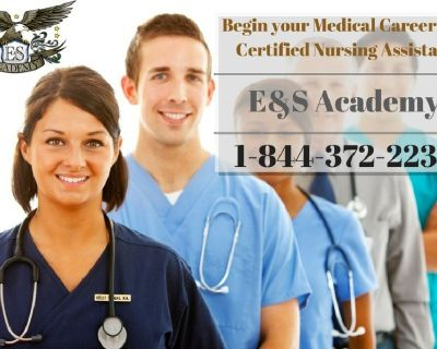 At E&S Academy Certified Nursing Assistant classes are just four weeks long!