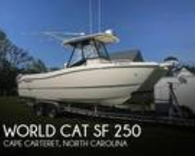 25 foot World Cat SF 250