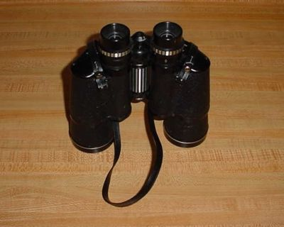 Vintage JCPenney's Empire 7 X 50 Field Coated Optics Binoculars Model 1504. Magnification 7 Times Closer. Aperture: 50 Millimeter...