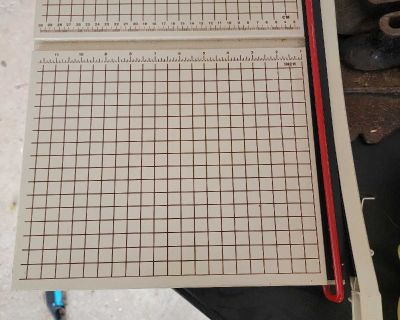 Boston 2612 paper cutter and trimmer