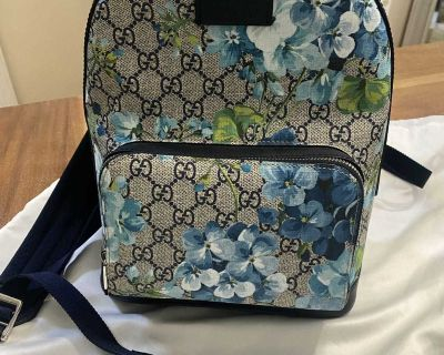 Gucci blooms backpack new