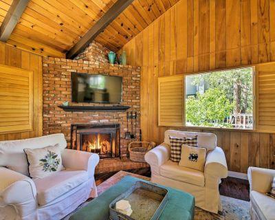 Winter Retreat - 30 Min to Snow Valley Mtn Resort! - Cedar Glen