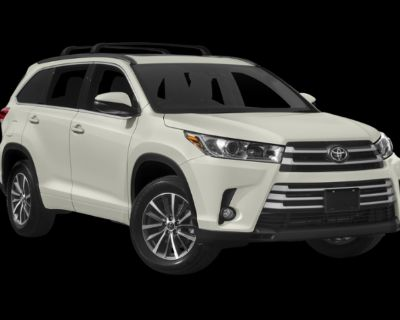 Pre-Owned 2019 Toyota Highlander XLE AWD 4D Sport Utility