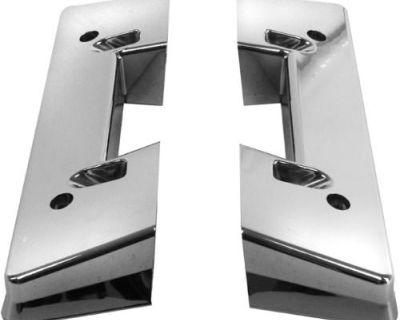 64-65-66-67 Chevelle Chrome Arm Rest Base Pair, New !!