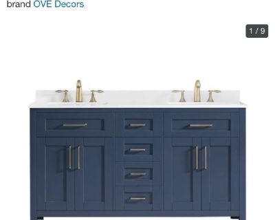 """Ove Decors Lakeview 60"""" Double Vanity"""