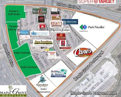 The Grove Retail Center Land for Sale