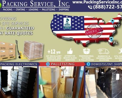 Packing Service, Inc. Professional Shipping and Packing Boxes - Reno, Nevada