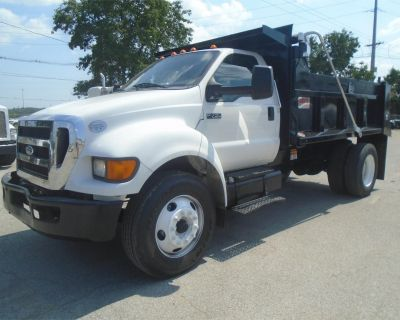 2013 FORD F750 Dump Trucks Medium Duty