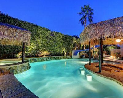 'Vista Escondido' Pool, spa, waterslide & swim-up bar - Orchards