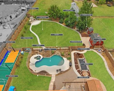 SUMMER Special!!! Custom Pool/Hot Tub + Outdoor Kitchen HUGE YARD Sports Court! - Gilbert