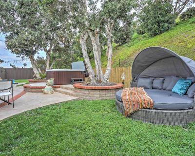 Chic Solana Beach House w/ Private Hot Tub & Yard! - Solana Beach