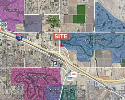 3.78 AC Commercial Lot