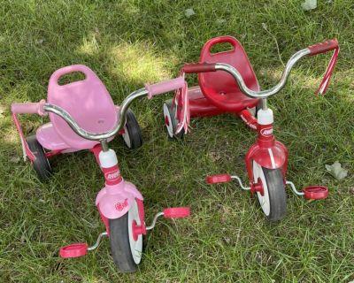 Radio Flyer tricycles