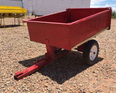 UTILITY TRAILER FOR YARD TRACTOR/MOWER