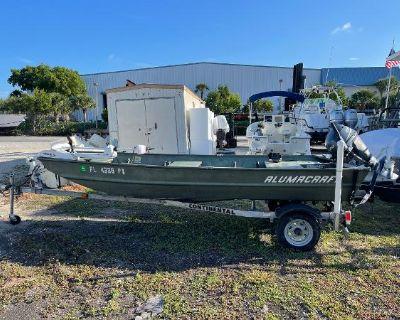 2012 Alumacraft Jon boat
