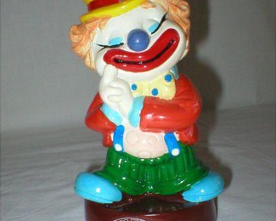 Vintage Coin Bank - Del Monte Big Top Bonanza Clown - 1985