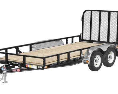 2021 PJ Trailers 83 in. Tandem Axle Channel Utility (UL) 14 ft. Utility Trailers Acampo, CA