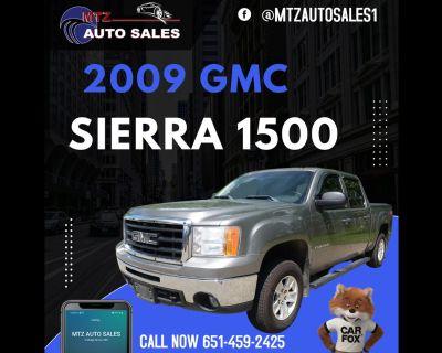 """2009 GMC Sierra 1500 4WD Crew Cab 143.5"""" SLE"""