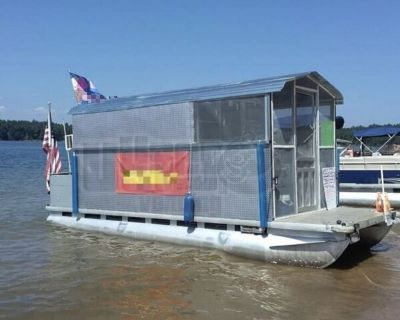 2019 All-Purpose Food Boat Floating Restaurant with 2001 - 24' Dual Axle Trailer