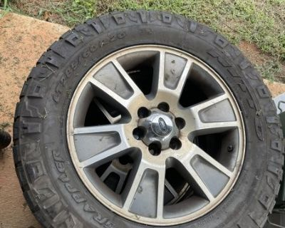 FS F150 wheels and tires
