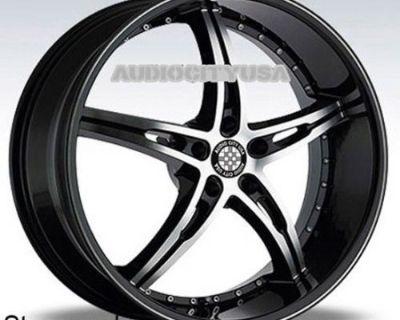 "22"" Cv14 Bd Wheels And Tires Rims Fits Mercedes S600 S63 S65 Gla250 Gla45 Glk250"