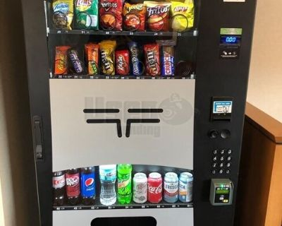 Wittern / USI Combo + AMS Snack & Drink Electronic Vending Machines