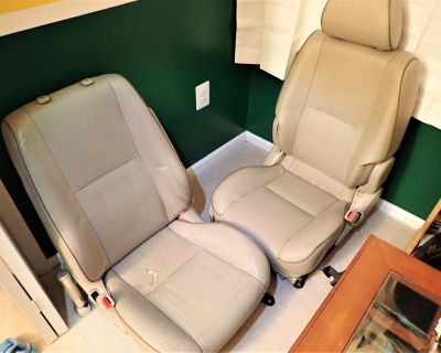 FS: Northern VA - Sportcross front seats - ivory full leather