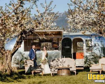 Fully Renovated Vintage 1965 Airstream Tradewind 24' Mobile Bar Trailer