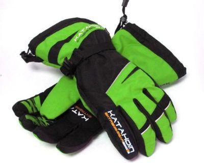 Katahdin Gear 7415038 Team Glove - Black & Green 4x-large