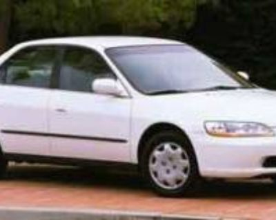 2000 Honda Accord LX Sedan Auto ULEV