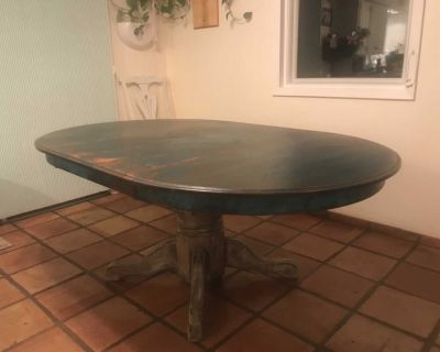 Shabby Chic French Provincial Dinning Table