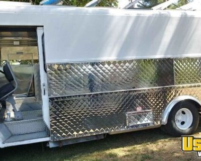 Chevrolet GMC Step Van All-Purpose Food Truck with Pro-Fire