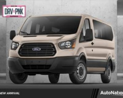 """2019 Ford Transit Passenger Wagon T-350 XL with Swing-Out RH Door 148"""" Low Roof"""