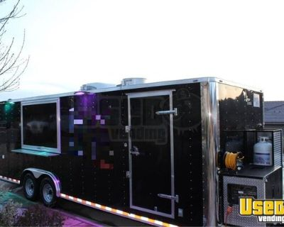 Fully-Equipped 2019 Lark 26' Kitchen Food Trailer with Pro-Fire
