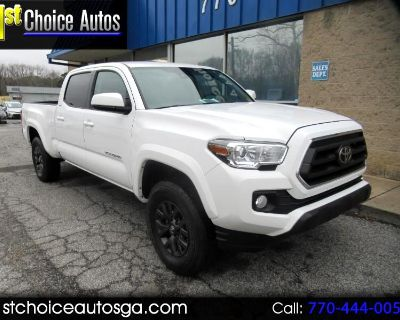 Used 2020 Toyota Tacoma 4WD SR5 Double Cab 6' Bed V6 AT (Natl)