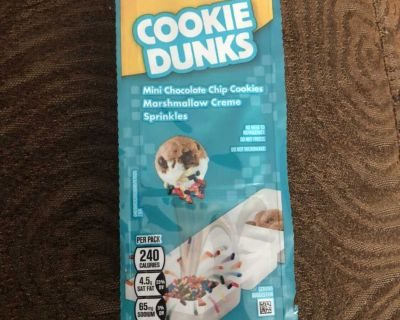 Lunchables cookie dunks use by Aug 26,2021
