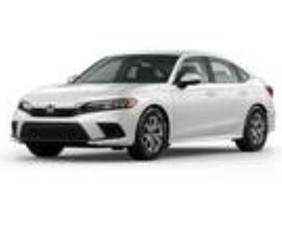 2022 Honda Civic Silver|White