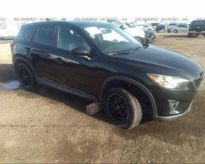 Salvage Black 2013 Mazda Cx-5