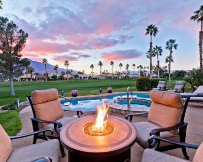 Posh Country Club Home with Private Pool & Spa on the Golf Course - Cathedral City
